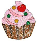 Navika Glitzy Cupcake Ball Marker with Magnetic Hat Clip
