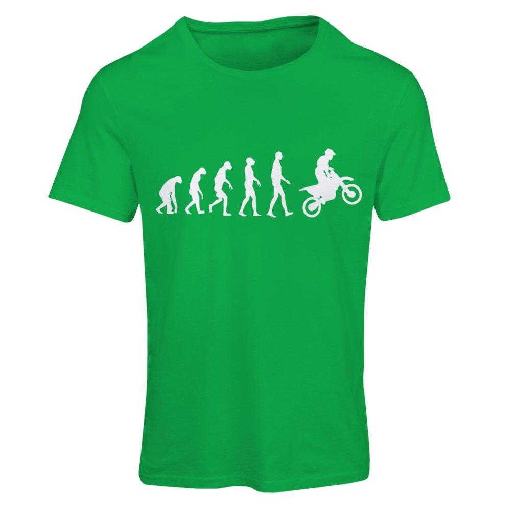 Camisa de la Motocicleta Desgaste de Las Carreras de Motos Moto de Carretera lepni.me Camiseta Mujer evoluci/ón del Motocross