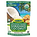 'Let's Do Organic Shredded, Unsweetened Coconut, 8-Ounce Packages (Pack of 12)' from the web at 'https://images-na.ssl-images-amazon.com/images/I/51rVksASqcL._SL500_AA130_.jpg'
