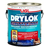 Drylok 28613 Extreme Latex Masonry Waterproofer Interior/Exterior Smooth Finish, White