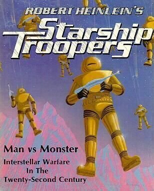 Robert Heinlein's Starship Troopers Bookcase ()