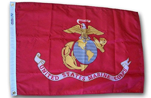 Cheap 2X3 Ft 2'X3′ Solarmax Double Sided Nylon Marines Usmc Marine Corps Flag Banner