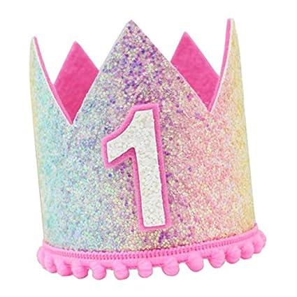 PETSOLA Sombreros con Corona de Brillo Accesorios Creativos ...