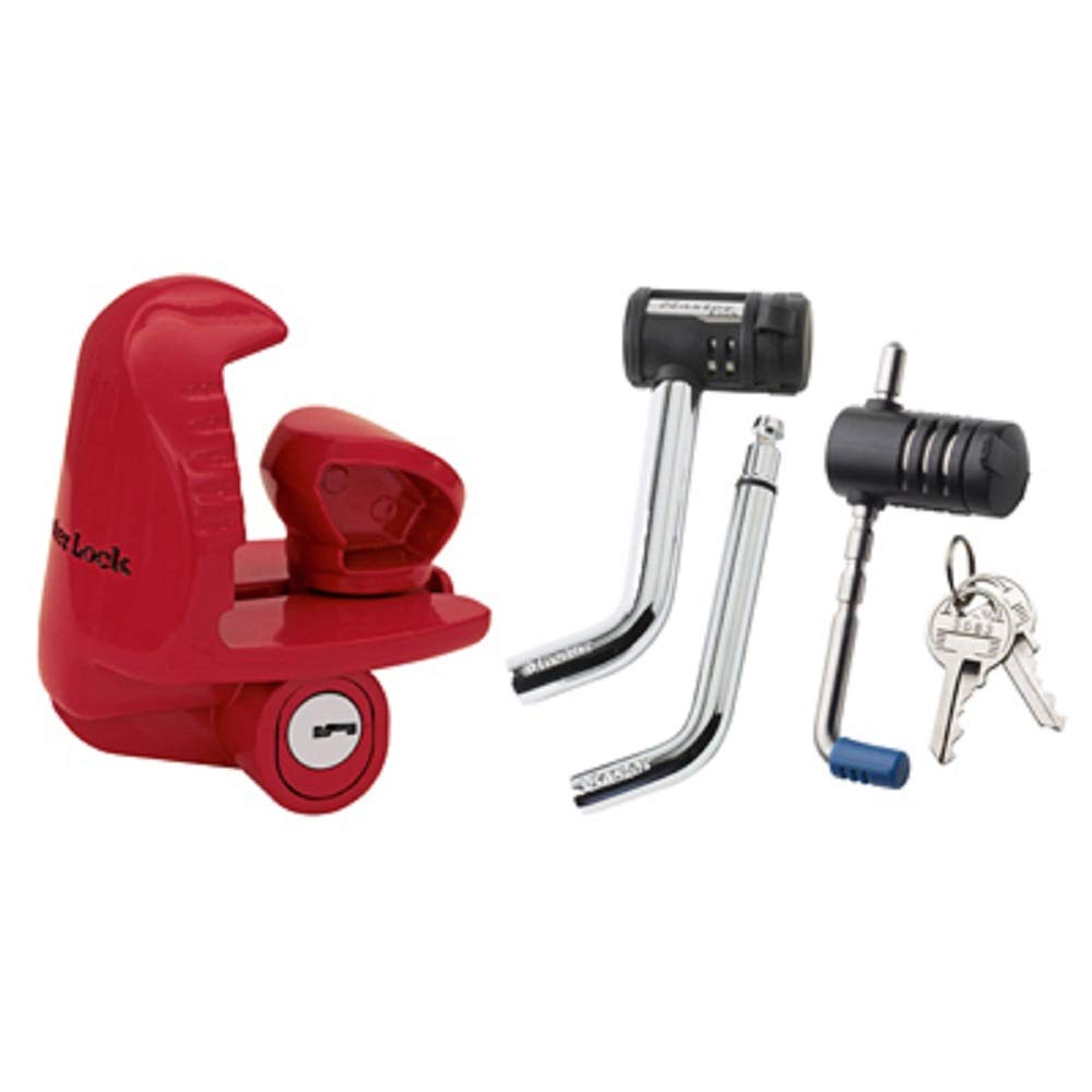Master Lock 3895DAT - Coupler Lock, Receiver Lock and Latch Lock - 3 Components Keyed Alike by Master Lock