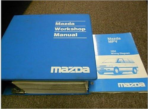 1994 Mazda MPV Van Service Repair Shop Manual SET OEM ... on