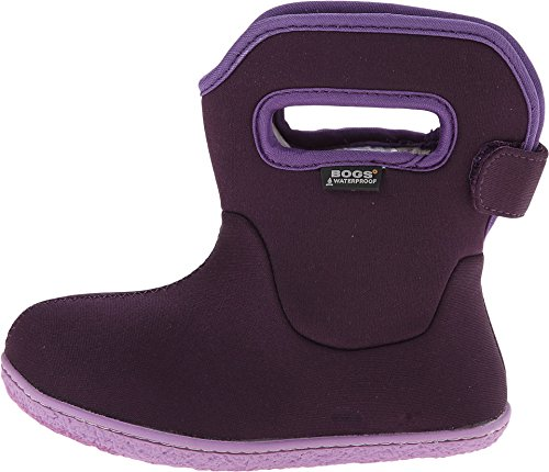 BOGS Baby Girls' Baby Solid (Inf/Tod) - Purple - 4 Infant