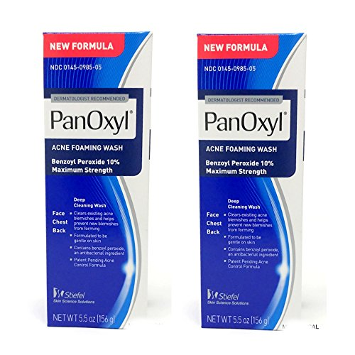 PANOXYL ACNE FOAMING WASH 5.5 oz (Pack of 2) by Choice One