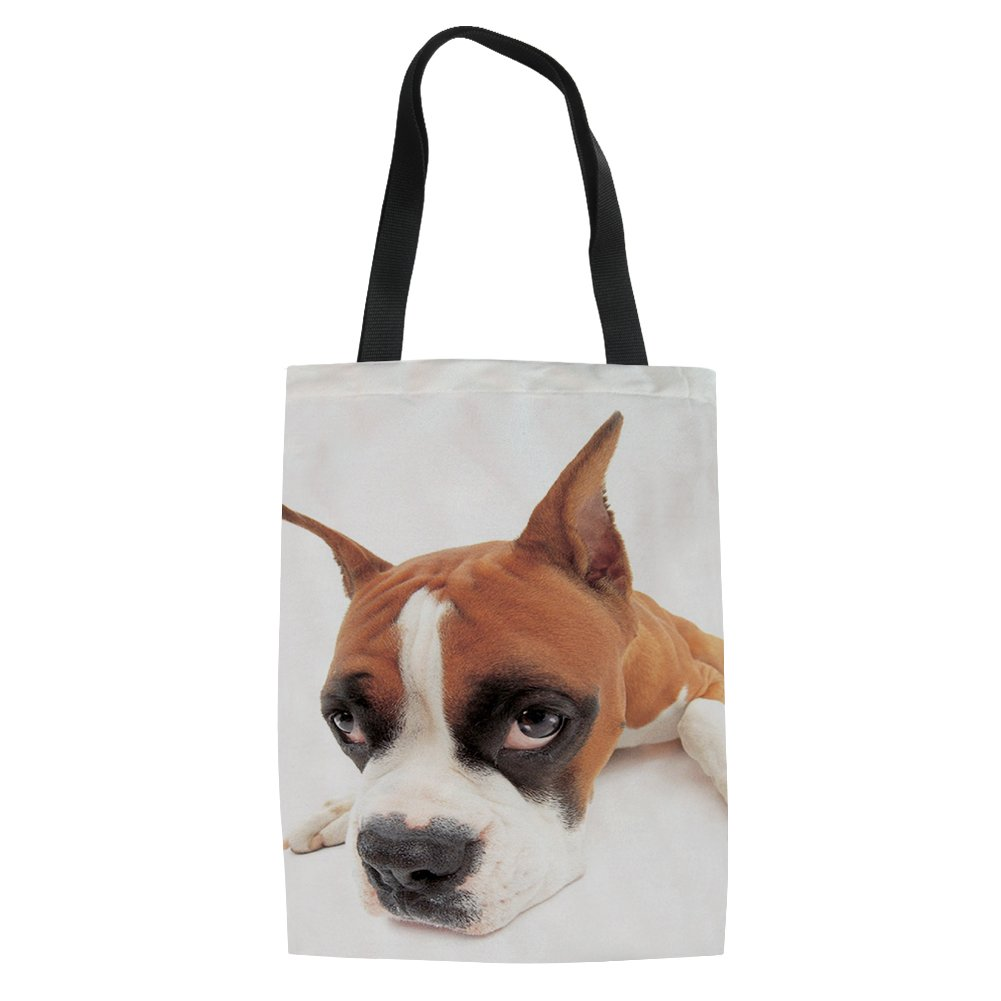 UNICEU Pet Cute Canvas Tote Bag Handbag for Women Girls
