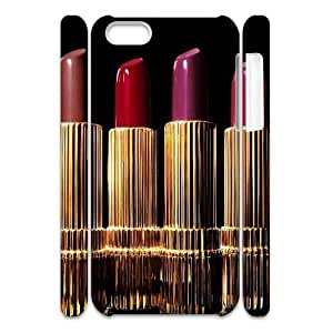 LJF phone case Lipstick Customized 3D Cover Case for Iphone 5C,custom phone case ygtg555828