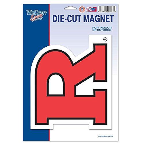 WinCraft NCAA Rutgers Scarlet Knights Die Cut Logo Magnet (Scarlet Rutgers Logo Knights)