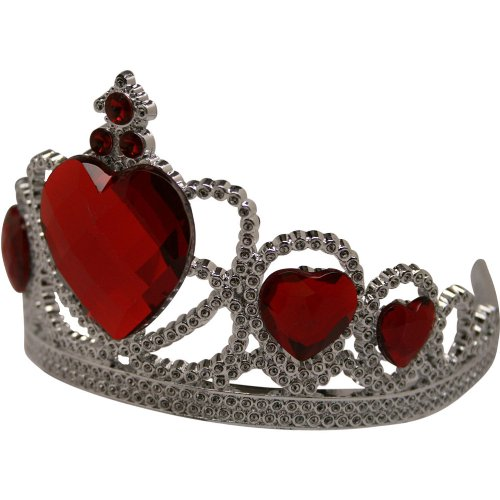 [Queen Of Hearts Tiara] (Red And White Queen Costumes)