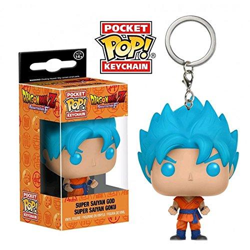 Funko 12520-pdq - Llavero de Super Saiyan Goku Dragon Ball Z ...