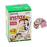Fujifilm INSTAX Mini Instant Film Twin Pack for instax mini 7s / 8 / 25 / 50s / 70 / 90