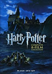 Harry Potter: The Complete 8-Film Collection (DVD)NOTE:Disc-The prisoner of azkaban starts playing with a preview of Polar Express and preview of Elf movies and then the actual movie Harry Potter -The prisoner of azkaban plays.