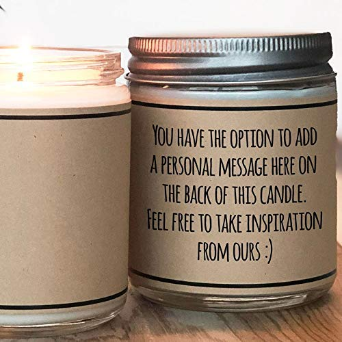 Grateful Thankful Blessed, Thanksgiving Gift, Thank You Gift – Soy Candle Gift
