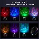 Night Light Projector,HiFi Bluetooth Speaker,Ocean