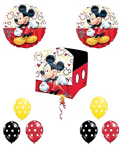 Mad About Mickey Cubez Balloon Bouquet by Party Supplies