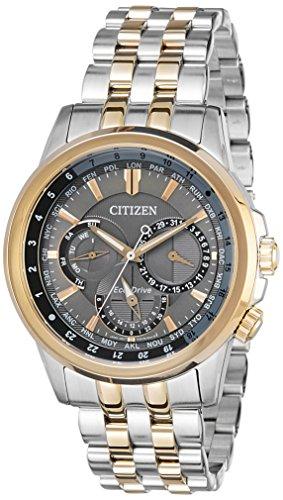 Men's Citizen Eco-Drive Calendrier World Time Watch BU2026-65H