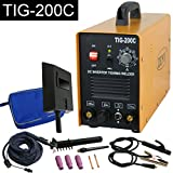 TIG Welder - Super Deal 2in1 DC Inverter Welder TIG MMA ARC Welding Machine 200 AMP Dual Votage 110/220V