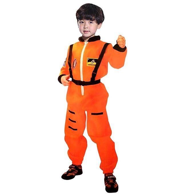 wetry Disfraz de Astronauta Adulto Niño Traje Espacial con ...