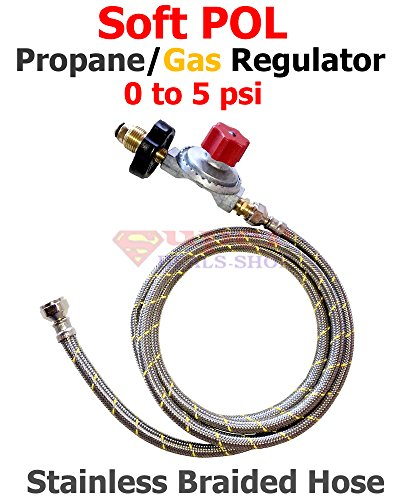 soft-pol-propane-gas-regulator-adjustable-0-to-5-psi-3-ft-stainless-steel-braided-hose-super-deals-s