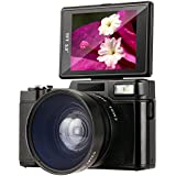 Camcorder ,Besteker HD 3.0-Inch LCD Mini Video Camcorders with Macro Lens and Flash Light (G36)