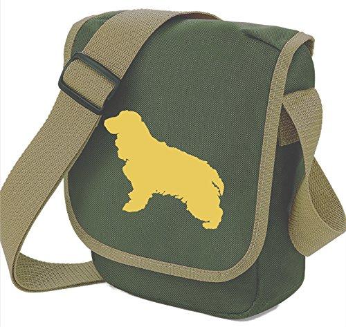 Silhouette Shoulder Cocker Colours Cream Dog Bag Choice Dog Cocker of Spaniel Bag Bag Olive Spaniel Bag Cocker Gift Reporter wq0ppH