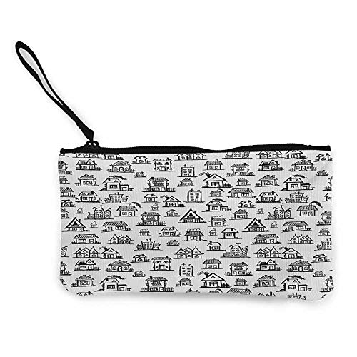 Canvas Wallet With ChainSmall Cute Coin Purse85 X 45 Inches