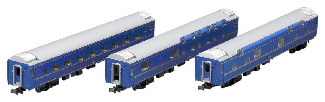 TOMIX Nゲージ 24系25形 特急寝台客車  北斗星JR東日本仕様 増結セット  3両  98268 鉄道模型 客車   B0721Q39H5
