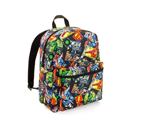 Backpack Superman (Justice League Comic Print Backpack)
