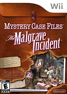 Mystery Case Files: The Malgrave Incident - Nintendo Wii