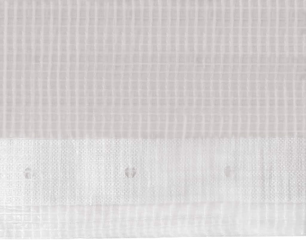 Resistente al Agua y Los Rayos UV Peso 260 g//m/² Benkeg Lona Impermeable Exterior 260 G//M/² 1,5 x 20 m Blanca Lona Exterior Lona Exterior Terraza Lona Toldo Exterior
