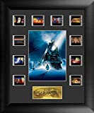 Film Cell Genuine Framed Matted Polar Express S2 Mini Montage Film Cell USFC6285