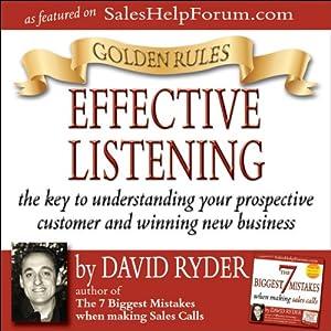 Golden Rules - Effective Listening Audiobook