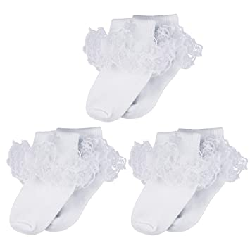 Baby Boys Christening Socks with Embroidered Cross Newborn 0-18 months White or Sky Blue