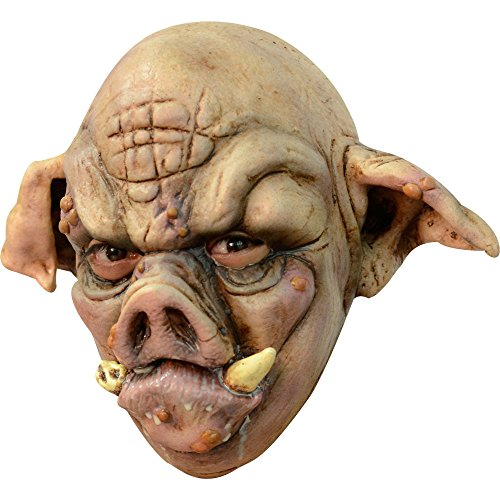 Scary Pig Mask Paper Meche - Ghoulish Masks Adult Rabid Pig Halloween