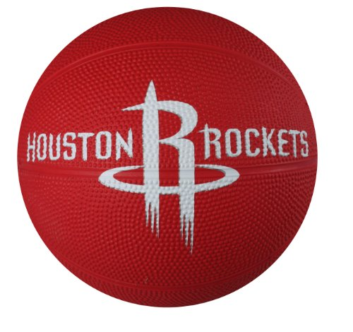 fan products of Spalding NBA Houston Rockets Mini Rubber Basketball