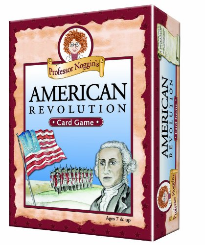 Professor Noggin's American Revolution - A Educational Trivia Based Card Game For Kids]()
