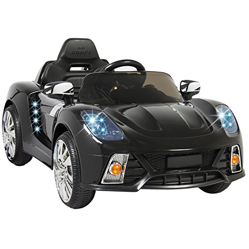 [Eight24hours 12V Ride On Car Kids W/ MP3 Electric Battery Power Remote Control RC Black] (Power Loader Costume Baby)