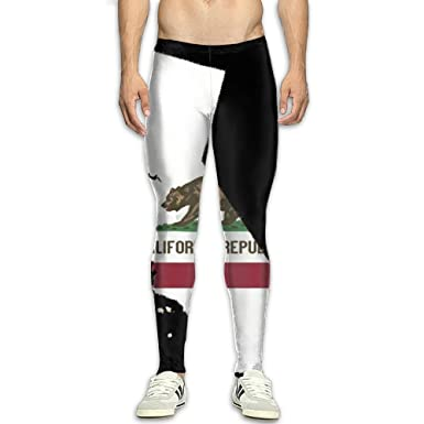 Amazon.com: Nvuznii California Republicnia - Pantalones de ...