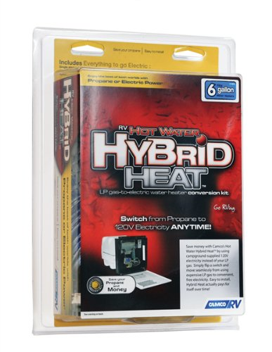 Camco Hot Water Hybrid Heat Kit - Easily Converts Any 6