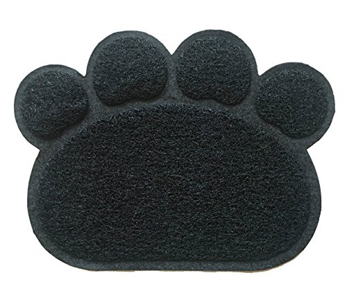 Stock Show 1Pc PVC Paw Shape Non-Slip Pet Placemat Feeding Food&Water Dish Bowl Mat Cat Litter Pad Cushion for Small…