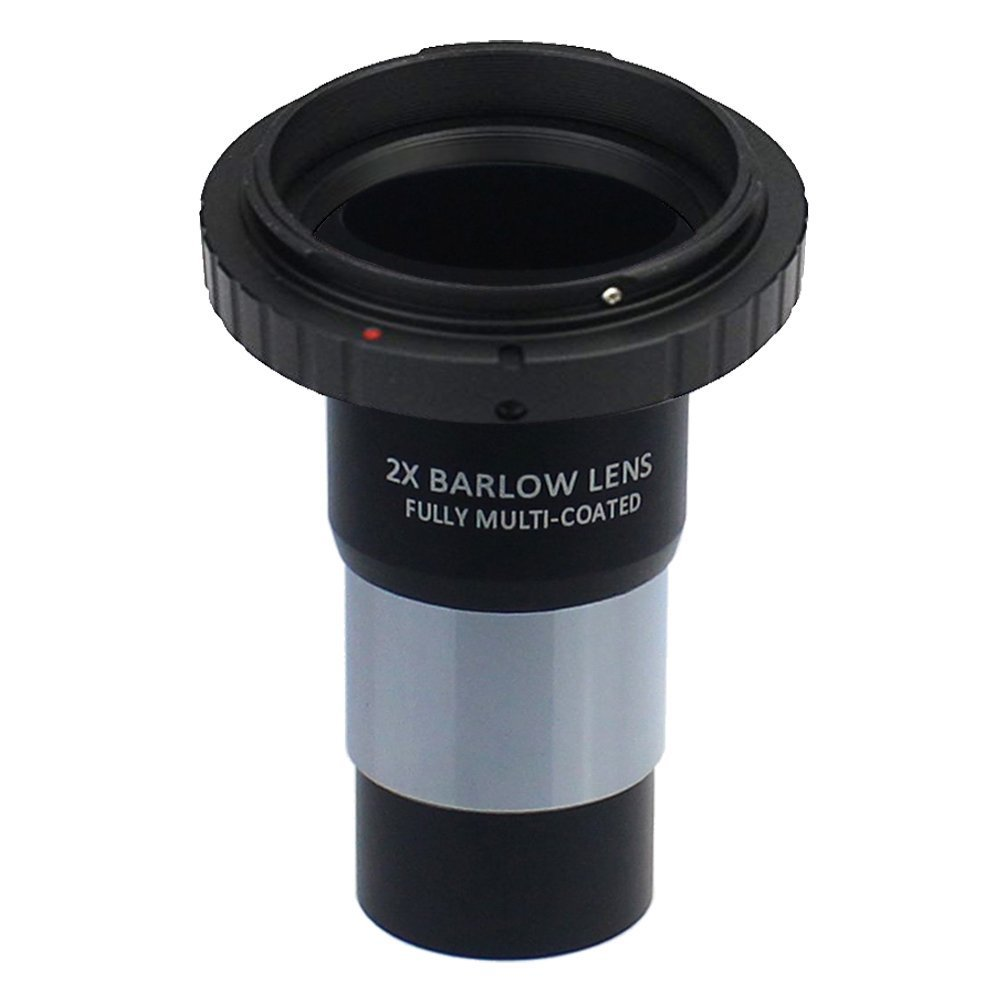 Gosky 1.25-inch Camera T-Adapter/2x Barlow Lens and Nikon SLR Camera Adapter Kit for Telescope Everest 4332048940
