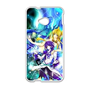 Anime Mermaid HTC One M7 Cell Phone Case White Phone cover O7510014