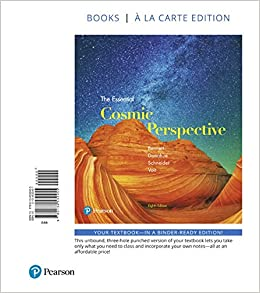 Essential Cosmic Perspective, The, Books a la Carte Edition