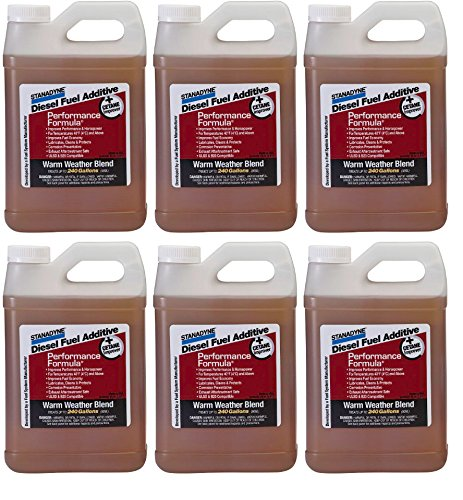 Stanadyne Performance Formula Warm Weather Blend - Case of 1/2 Gallon Jugs by Stanadyne