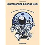Skateboarding Coloring Book: Easy, Fun, Relaxing, and Stress-Relieving Designs for Skaters
