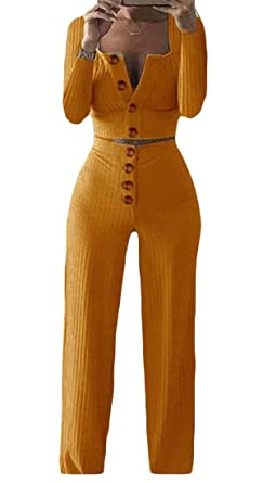 H&E - Conjunto de 2 Piezas de Pantalones de chándal con Botones ...