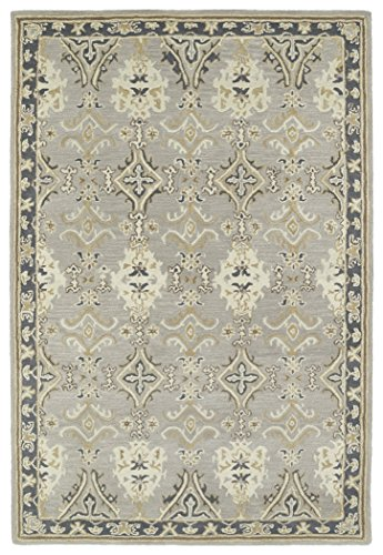 Hand Tufted Camel (Kaleen Rugs Middleton Collection MID04-75 Grey Hand Tufted 8' x 10' Rug)