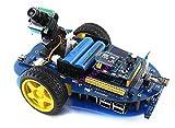 CoolWind AlphaBot Raspberry Pi 3 Model B Robot Building Starter Kit + Camera IR control